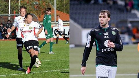 Tommy Tønnesen (t.v.) og Espen Nygaard er to av spillerne Ålgård FK har kontaktet med tanke på neste sesong.