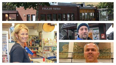Gjesdalbuen har spurt tre Figgjo-profiler om hva de kunne tenke seg på skoleeiendommen når Figgjo flytter inn i nytt bygg i 2019.