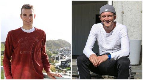 Markus og Daniel Hoelgaard representerer Norge under fellestarten i sykkel-VM i Nederland. Det blir første gang på mange år de to brødrene sykler for samme lag.