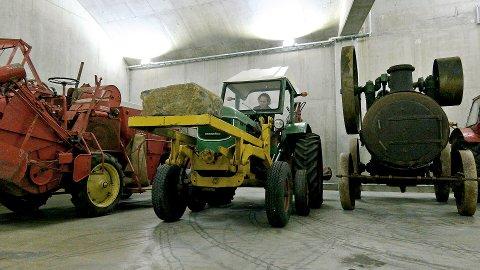 FLUST AV LANDBRUKSMASKINER: Når den står klar om noen år vil det være en utstilling med et bredt spekter av landbruksmaskiner fra tidsperioden 1800-1965.
