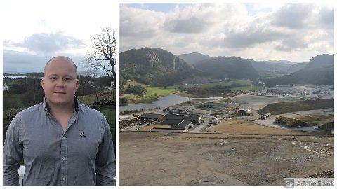 Ifølge masterstudent Ruben Eggebø, er Skurve svært godt egnet til å huse en fyllestasjon for hydrogenkjøretøy.