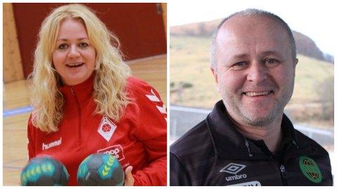 Kristine Jøntvedt i Ålgård HK og Terje Tjetland i Ålgård FK tjener mellom 500.000 og 550.000 kroner i året. Det er langt under gjennomsnittet på Jæren.