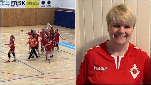 Ålgård 3 og trener Heidi Lund Haukalid vant 10 av sine 14 kamper i årets sesong, og rykket dermed opp til 4. divisjon.