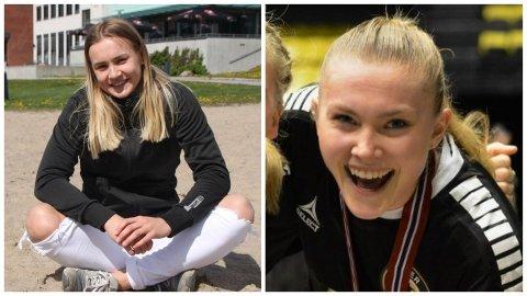 Maren Sjaamo (t.v.) og Margit Lidal er to av Ålgårds tre nye spillere denne sesongen.