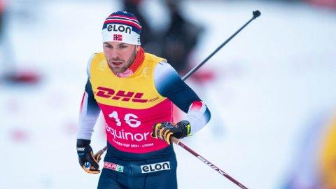 Sivert Wiig var best under prologen i Granåsen lørdag formiddag. Her fra sprint prolog i norgescupen på Lygna. Foto: Terje Pedersen (NTB)