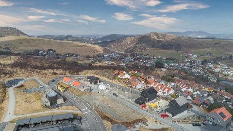 Nabolaget Rossåsen er straks ferdig utbygd. Nå gjenstår kun 12 boenheter.