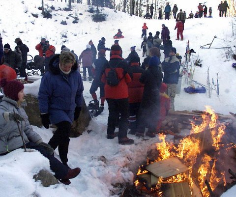 AVLYST: Det blir ingen aking eller andre aktiviteter verken i Puttara eller Holtberget under årets vinterfestival. Foto: Ole-Johnny Myhrvold