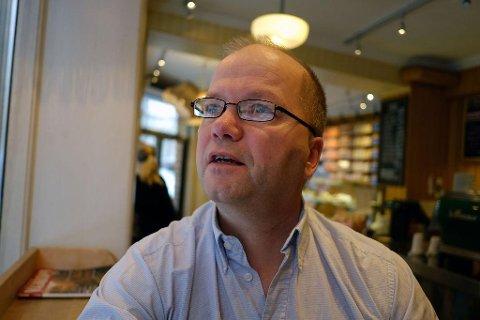 OMSTRIDT: Max Hermansen har fått mye tyn for sitt Pegida-engasjement. Foto: Trond Lepperød (Nettavisen)