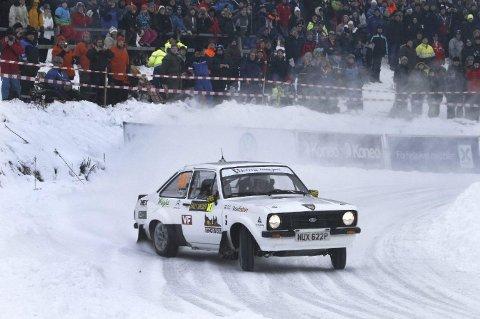 POPULÆR BIL: Petter Solberg skal kjøre denne bilen når han gjør comeback i rally-sirkuset under Rally Sweden i februar. Han skal da kjøre i «historic-klassen».