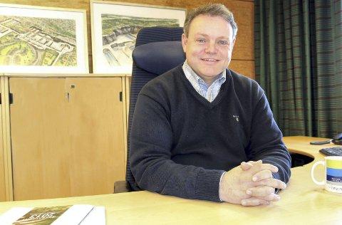 NY JOBB: Thomes Trømborg begynner som daglig leder i Nedre Romerike Vannverk IKS (NRV) og Nedre Romerike Avløpsselskap IKS (NRA). FOTO: NRV/NRA