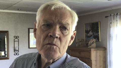 KJENNSKAP: – Jeg har kjent Tor Andre Johnsen i mange år. Han har vært en strålende representant for norsk næringsliv i Russland, sier Arne Treholt. (Foto: Rune Hagen)