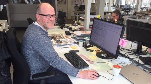 SVARTE PÅ NETT: Skatteetatens Terje Verhaug besvarte lesernes spørmål om skattemeldingen.