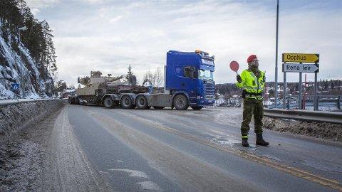 KØ: Forsvaret ber deg være forberedt på kø også i Kongsvinger-distriktet under den store NATO-øvelsen.
