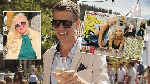 KJENT MED MILJØET: For Helene Sommer har de siste 20-30 årene har vært en lang dans i miljøet av Norges rikeste, finansgutter og høy sigarføring.