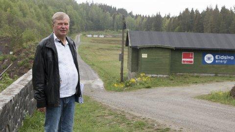 OPTIMIST: Nå tror KOS-leder Stein Willersrud på fortgang i arbeidet med å skaffe skytterlaget ny bane. Da blir skytestøyen som ergrer mange innbyggere i sentrum av Kongsvinger en saga blott.