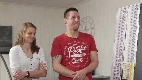 HEMMELIG: Kun kjæresten Alexandra visste om Øseths økonomiske problemer. Hun har vært en god støtte hele veien. Foto: TV3