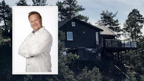 Jørn Mathisen har hytte med sjøutsikt i Svelvik, men kan ikke bruke den fordi han bor i Sandefjord. Kanskje noen drammensere med hytte i Sandefjord vil bytte, undrer han.