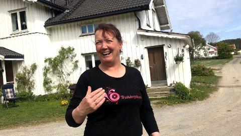 SKREMTE TYVENE: Anne Marie Oddlien Kvaal fikk tyvene til å ta beina fatt. (Foto: Thor Fremmerlid)