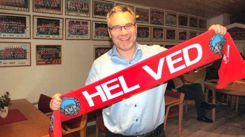 VIL KLARE SEG: Styreleder Baard Nordvang mener KIL skal klare å redde seg ut av en vanskelig sportslig situasjon.
