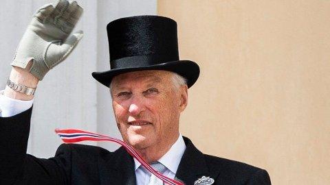 SYKMELDT: Kongehuset skriver på sine nettsider at Hans Majestet Kong Harald er innlagt på sykehus. Foto: Berit Roald (NTB scanpix)