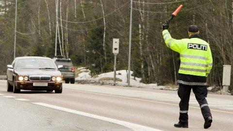 Selv sjefen for utrykningspolitiet har blitt vinket inn i en fartskontroll. – Jeg må jo si at det var ubehagelig, sier Steven Hasseldal til Broom, når han er gjest i podcasten BroomPodden. Foto: Junge, Heiko