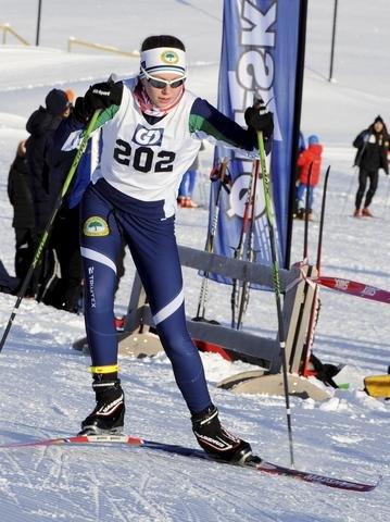 SØRE ål: Kirsti Høiholt Vågsnes konkurrerer i J14.