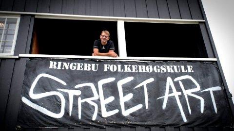 Rektor ved Ringebu Folkehøgskule, Rolf Joar Stokke  *** Local Caption *** -