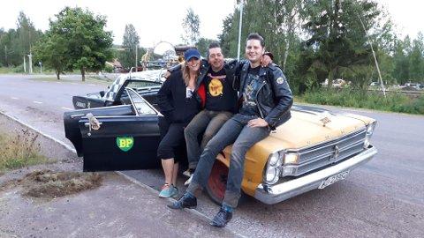 Jon Arild Jøingsli (t.h) fra Skjåk, her sammen med Nina Lotta Berg og Svein Arne Hugsten