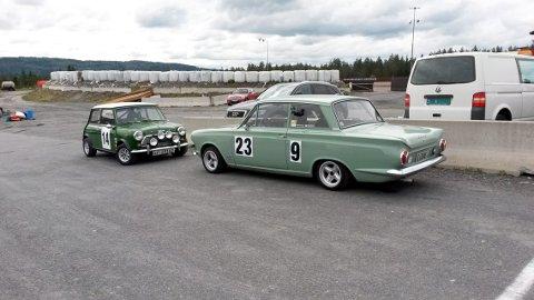 KNA motordag: Lørdag blir det biler av mange slag og årganger på Birkebeineren skistadion. Her fra 2014.Arkivfoto