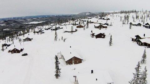 Norges største hytteby, Sjusjøen, har et høyt vannforbruk . Nå sørger ringsaker brannvesen for å hindre at vannbassenget går tomt.