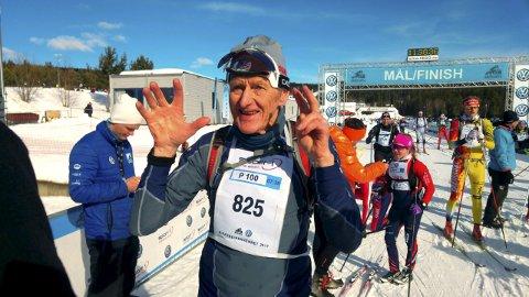 Åge Ludvigsen går for sitt 53. merke i Birkebeinerrennet lørdag.