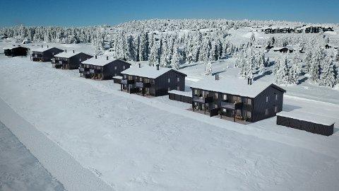 NYTT PREG: Der den gamle hotellbygningen lå på Sjusjøen, blir det 24 leiligheter. De første 12 er lagt ut for salg.