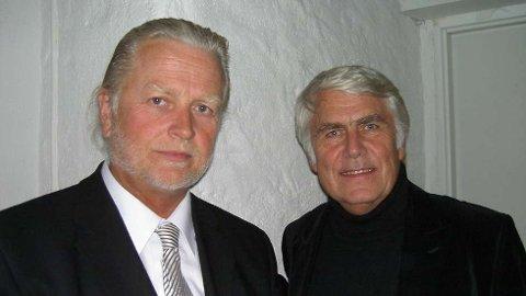 FOLKEMUSIKK: Iver Kleive og Sondre Bratland.