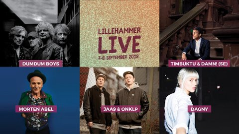 Lillehammer Live arrangeres 7.-8. september.