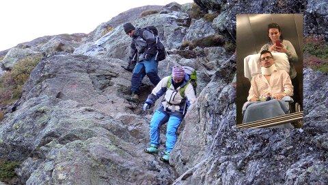 I april satt Marius Moen i rullestol og klarte knapt å gå. Lørdag 15. september gikk han og kjæresten Karoline Torgersen over Besseggen.