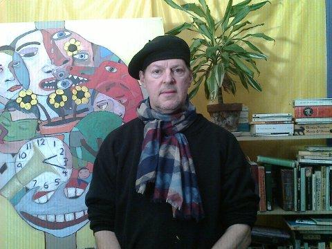 Den amerikanske kunsteren Dick Turner (59) som i dag bor i Paris, er  opphavsmannen til The Smile Machine.