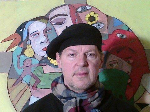 Dick Turner drømmer om å komme til Lillehammer og gjøre kunstnerisk performance, med smilebøylen.