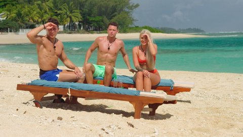 Denne uken startet «Ex On The Beach» på TV. Siv Meyer har fått mye oppmerksomhet etter at den startet.  Her sammen med to av de andre deltagerne.