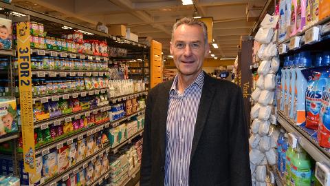 COOP-DIREKTØR: Olav Rønningen har ledet Coop Innlandet i 16 år. Om et drøyt år gir han seg.