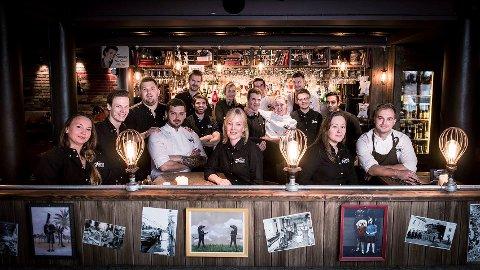 De ansatte i restauranten Heim i Lillehammer starter catering fordi de må stenge i forbindelse med korona-pandemien.