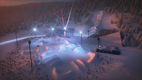 Slik ser X Games for seg arenaen i og rundt Lysgårdsbakkene.