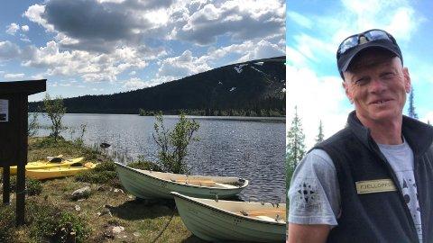 POPULÆRT: Even Ragnar Røhnebæk  er glad for at interessen for friluftsliv i Gausdal øker.  Bildet er fra Snæra i Gausdalfjellet.