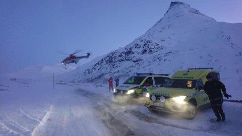 Torsdag ble det full redningsaksjon etter et snøskred ved Hurrbrean i Jotunheimen.