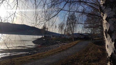 Festen har foregått her, i nærheten av Lillehammer Camping.