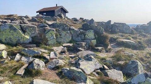 Her vil Gropmarkas Venner anlegge ny bålplass.