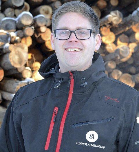 Bjørn Niklas Sjøstrøm, bestyrer Lunner Almenning og nyvalgt styreleder Hadeland Energi.
