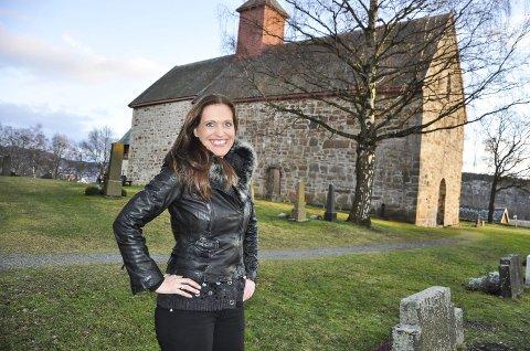 MARIA: Mariakirken har på en møte blitt en favorittkirke for Gunda-Marie Bruce Amlien.