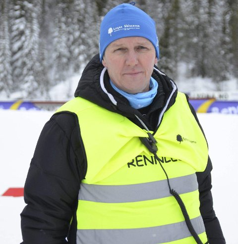FORNØYD: Rennleder for norgescupen, Terje Nilsen.