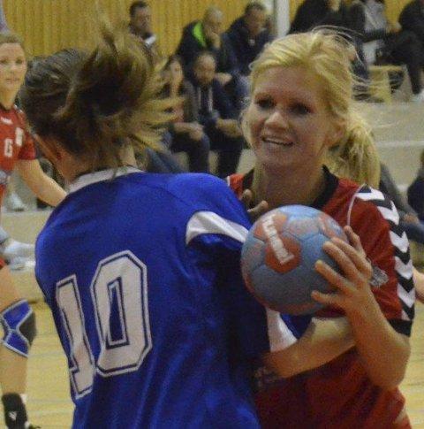 SEKS MÅL: Beate Gabrielsen ble kåret til Lunners beste spiller.