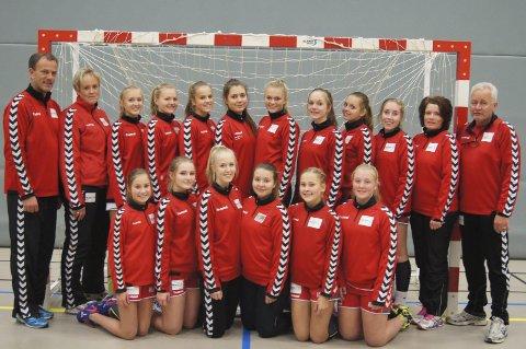 UAVGJORT: Grans 16-åringer tok sitt første poeng i Bringserien etter 24–24 mot Herulf i Sandnes.